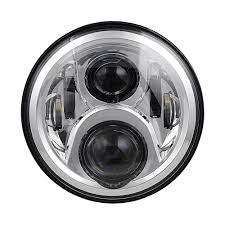 jeep black headlights black daymaker style led projection headlight kit for jeep