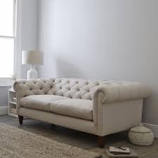 Chesterfield Sofa Linen by Hampstead Linen Union Sofa Sofas U0026 Armchairs The White Company Uk