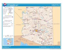 Grand Canyon Map Usa by Maps Of Arizona State Collection Of Detailed Maps Of Arizona
