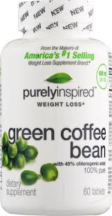 purely inspired green coffee bean dietary weight loss supplement