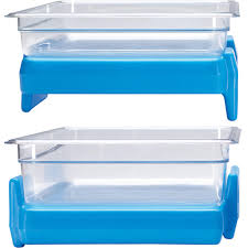 Cambro Round Food Storage Container Sets - cambro cold blue full size 1 1 gn buffet camchiller food pan ice