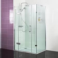 hinged shower doors and folding shower door enclosures roman showers