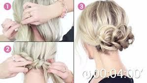 Frisuren Selber Machen Leicht Gemacht by Einen Eleganten Festlichen Haarknoten Einfach Selber Machen Und