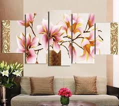 painting for home decoration frame orchid wall painting flower canvas painting home decoration
