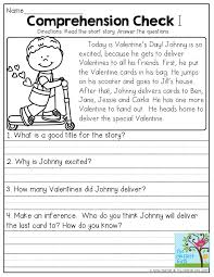 stories for comprehension comprehension check read the story and answer the questions