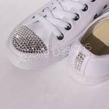 wedding shoes converse bedazzled converse wedding shoes swarovski jezelle jezelle