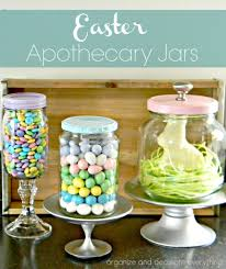 easter apothecary jars organize and decorate everything