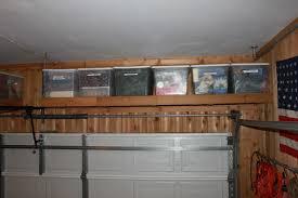 garage shelving with doors garage doors over garage door storage ideas rack systems for the