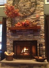 stone fireplace decor airstone fireplace this project used two cartons of spring creek
