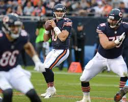 hub arkush can trubisky and brees be two peas in a pod