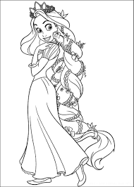 Tangled Coloring Pages Pilular Coloring Pages Center Coloring Pages Tangled