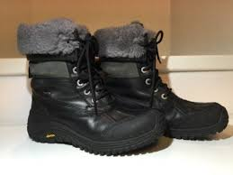 ugg s adirondack boot ii black grey ugg adirondack ii otter uggforever co uk