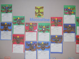 mrs t u0027s first grade class mooseltoe