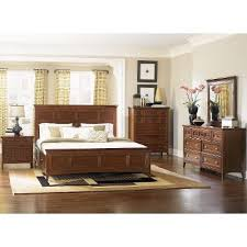 Cherry Casual Traditional  Piece Queen Bedroom Set Harrison - Rc willey bedroom sets