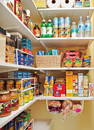 how to store food in a cupboard how to organize your pantry by zones for simple effective