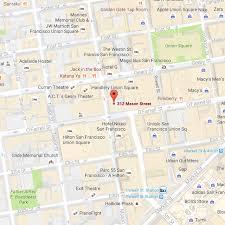 san francisco map downtown hi san francisco downtown directions to the hostel hi usa