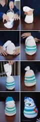 adorable sock snowman kids craft and winter decor