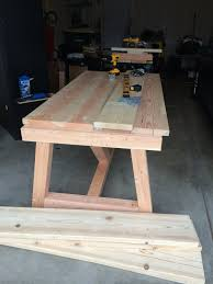 Diy Farmhouse Kitchen Table I Heart Nap Time Holy Cannoli We Built A Farmhouse Dining Room Table