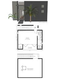 house plans with guest small 61custom contemporary modern home