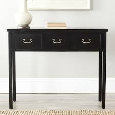 modern sofa table modern console table with drawers contemporary console table with