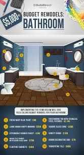 Bathroom Renovation Ideas Colors Best 25 Budget Bathroom Remodel Ideas On Pinterest Budget