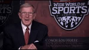 Lou Holtz Memes - words of wisdom to think about lou holtz video dawgonnit dawg s