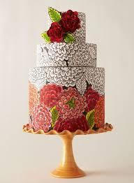 art nouveau wedding cakes part 5 color me fabulous