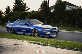 r32 skyline cars nissan skyline r32 blue car walldevil