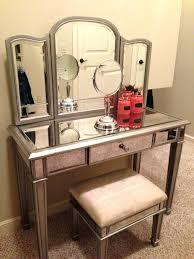 gold vanity stool mirrored vanity set u2013 thewritefit us