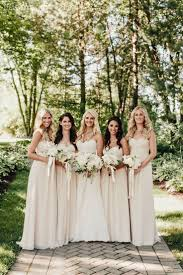 stylish wedding gowns and bridesmaid dresses long sleeve