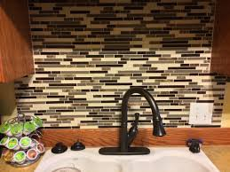 Lowes Kitchen Tile Backsplash by New Backsplash Lowes American Olean Mosaic Tile In Chateau