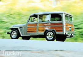 willys jeep pickup lifted 1953 willys wagon left side angle willis wagon pinterest