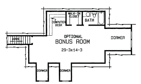 one story floor plans with bonus room house plans bonus room yuinoukin com
