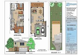 narrow lot house plans craftsman one story house plans wide lots best of craftsman style narrow lot