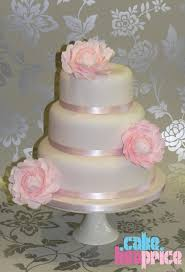 cake by lisa price pink peony wedding cake