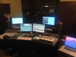 Home Studio Mixing Desk by Bill Gwynne