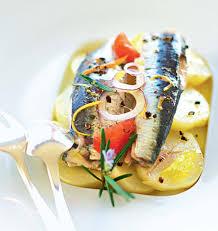 cuisiner des sardines fraiches recette sardines à l huile aux aromates