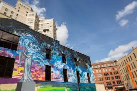 grand rapids murals arts culture in grand rapids mural at monroe center
