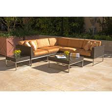 caluco mirabella wicker sectional sofa set