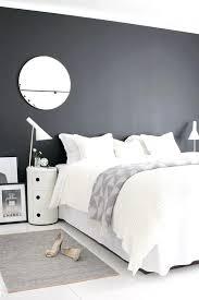chambre noir et blanc design chambre noir et blanc design chambre avec mur noir chambre a