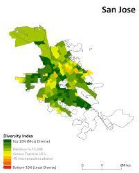 san jose ethnicity map r u seriousing me a city can be diverse but its neighborhoods