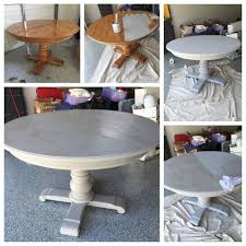 inspirations dining table and chairs make over before and