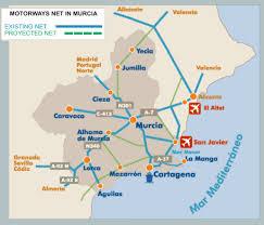 Valencia Spain Map by Pagina Nueva 2