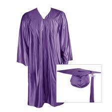 purple graduation cap buy gowns packages academic regalia for all commencements