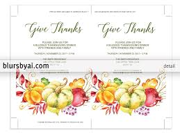 design templates print thanksgiving menu template business letters