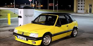 peugeot yellow tomuchofme 1987 peugeot 205 specs photos modification info at