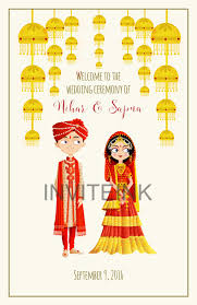 Wedding Program Dimensions January Waters Indian Wedding Program Graphic Design