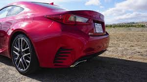 2016 lexus rc 200t coupe review lexus rc 200t review youtube