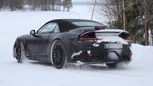 porsche 911 snow vwvortex com next gen porsche 911 mule spied testing will be