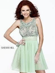 2014 sherri hill 11082 peach prom dress 11082 u2013 259 00